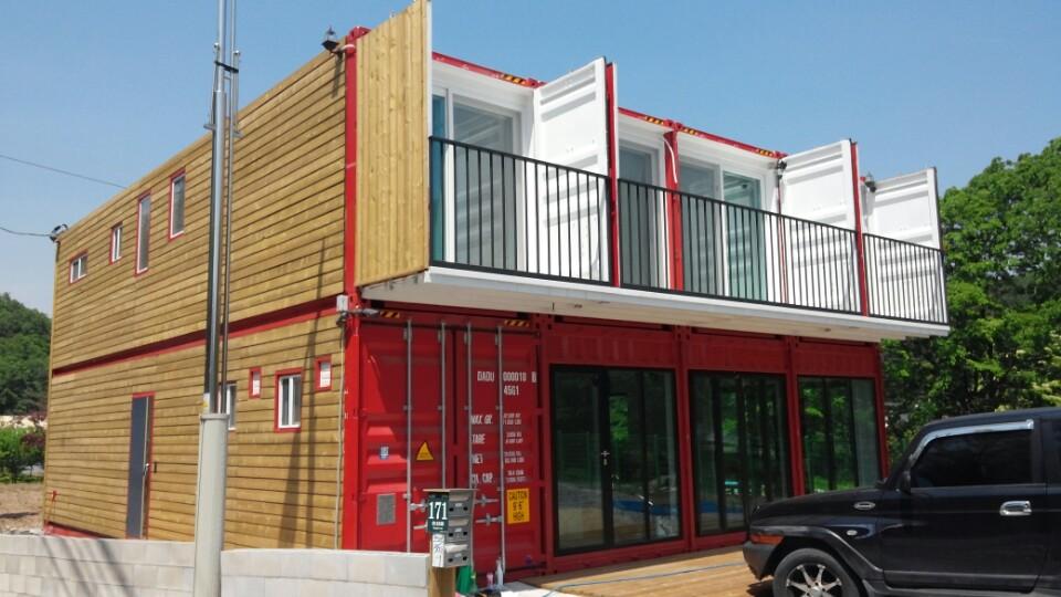 1.2층 콘테이너주택,근생시설건식