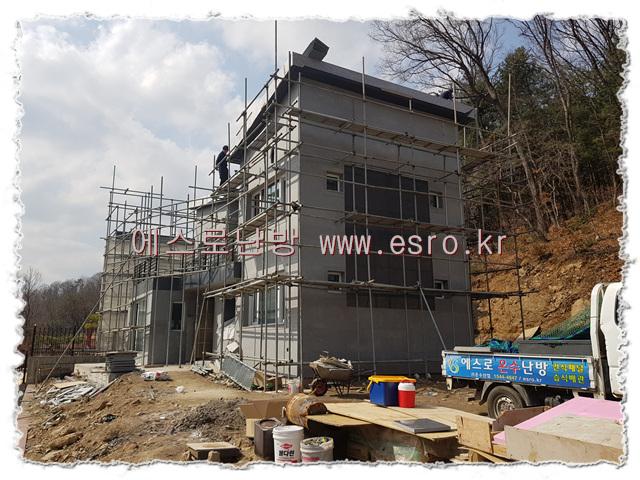 남양주 전원주택 블록형(축열)